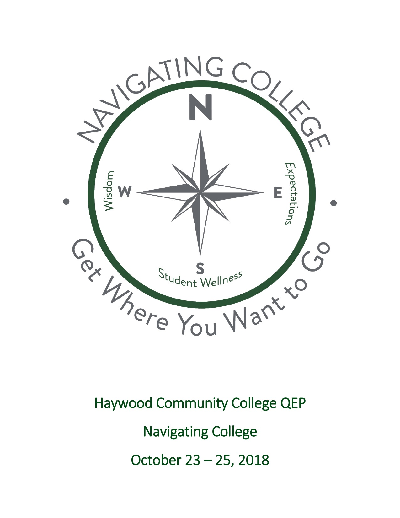 Front Cover of the Navigating College Quality Enhancement Plan
